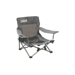 Coleman Deluxe Mesh Event/Beach Chair - Grey