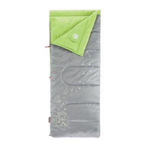 Coleman FyreFly Illumi-Bug Kids Sleeping Bag - Green