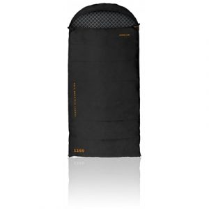 Darche Cold Mountain Canvas 1100 -5C Sleeping Bag - Black