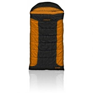 Darche Cold Mountain Lites 1400 0C Sleeping Bag - Black/Orange