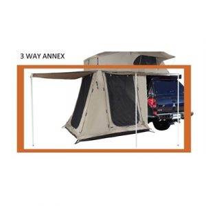 Darche Spare Part - 3 Way Annex with Floor for Roof Top Tent