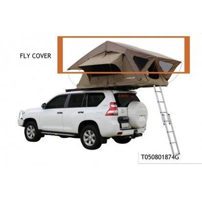 Darche Spare Part - Outer Fly for Intrepidor 2 Roof Top Tent