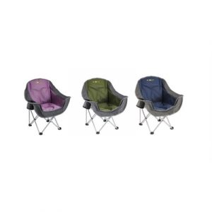 OZtrail Moon Chair with Arms - Junior