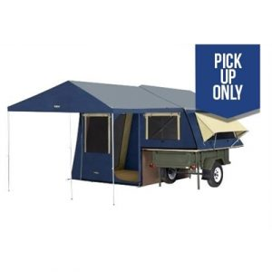 OZtrail Ridgeline Latitude Camper Trailer Tent (inc Sunroom & Floor Kit)