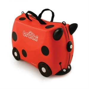 Trunki - Harley Ladybug Ride-on Luggage