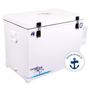 Evakool Fibreglass 150 Litre Fridge ONLY, Marinised, 5yr...