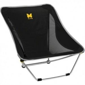 Alite Designs Mayfly Compact Lightweight Camping Chair - Black