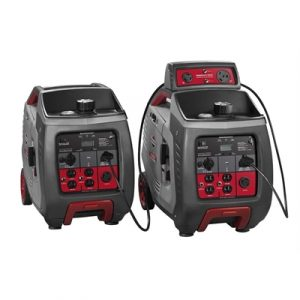 2 x Briggs & Stratton 3000w Inverter Generator with...