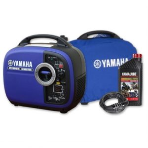 Yamaha EF2000iS, 2000w Inverter Generator with Bonus Pack, 4...