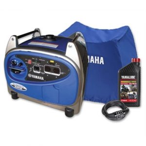 Yamaha EF2400iS, 2400w Inverter Generator with Bonus Pack, 4...