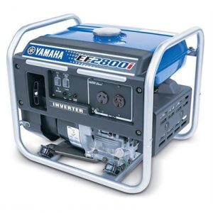 Yamaha EF2800i, 2800w Inverter Generator, 4 year warranty
