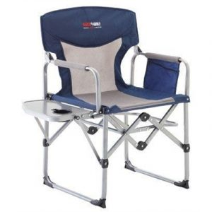 BlackWolf Compact Directors Chair - Blue