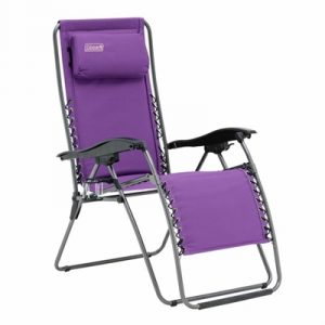 Coleman Layback Lounger Chair - Purple
