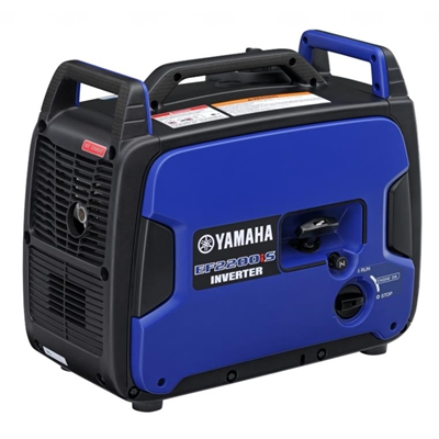 Yamaha EF2200iS, 2200w Inverter Generator, 4 Year Warranty
