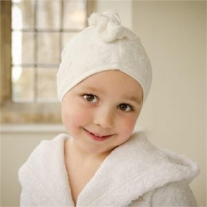 Cuddledry - Ecru White Cuddletwist Hair Towel