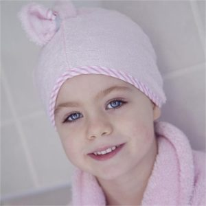 Cuddledry - Pink Stripe Cuddletwist Hair Towel