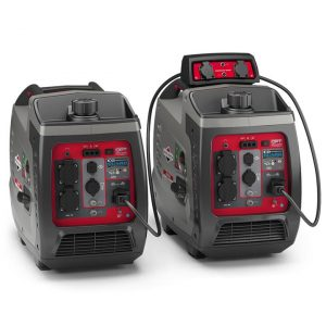 2 x Briggs & Stratton 2400w Inverter Generator with Parallel Kit (Combined 3300 Watts), 3 Year Warranty