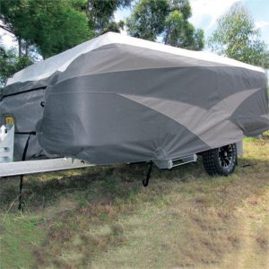 ADCO CRVCTC14 12-14ft Camper Trailer Cover (3.67-4.28m), 3 Year Warranty
